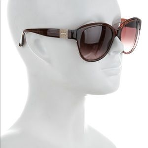 Chloe' Oversized Tinted Sunglasses